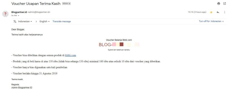 Voucher Blibli.com